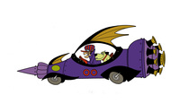 Dick Dastardly and Muttley in the Mean Machine 00 wallpaper 2560x1600 jpg