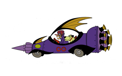 Dick Dastardly and Muttley in the Mean Machine 00 wallpaper