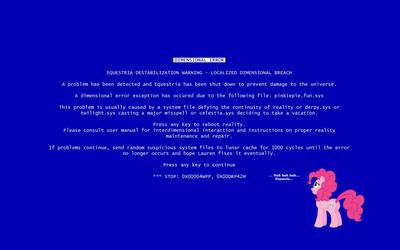Dimensional error - My Little Pony wallpaper
