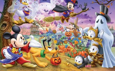 Disney's Halloween wallpaper