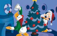 Donald and Mickey wallpaper 1920x1200 jpg