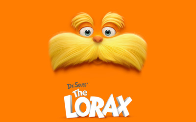 Dr. Seuss' The Lorax wallpaper