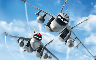 Echo and Bravo - Planes wallpaper