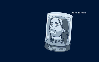 Eddard Stark - Futurama wallpaper