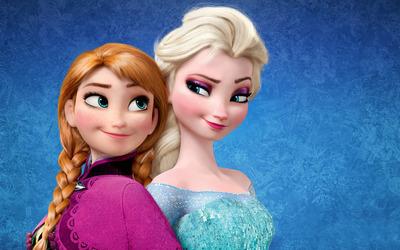 Elsa and Anna - Frozen wallpaper