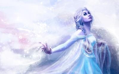 Elsa - Frozen [8] Wallpaper