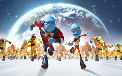 Escape from Planet Earth wallpaper