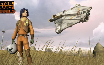 Ezra - Star Wars Rebels wallpaper
