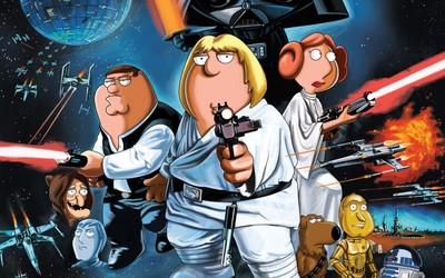 Family Guy - Star Wars wallpaper