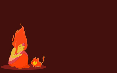 Flame Princess -  Adventure Time wallpaper