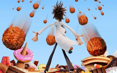 Flint  - Cloudy with a Chance of Meatballs 2 wallpaper
