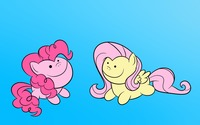 Fluttershy and Pinkie Pie wallpaper 1920x1080 jpg