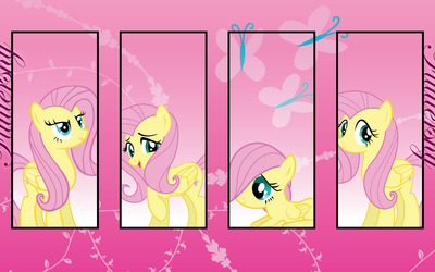 Fluttershy - My Little Pony Friendship is Magic [2] wallpaper