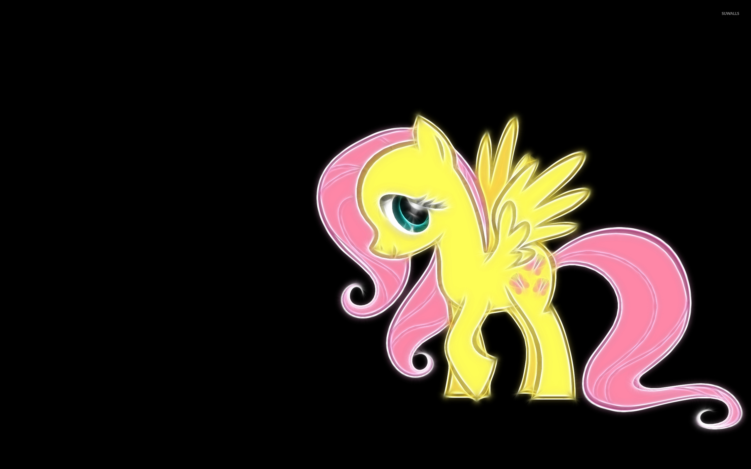 fluttershy my little pony friendship is magic wallpaper