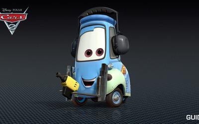 Guido - Cars 2 wallpaper