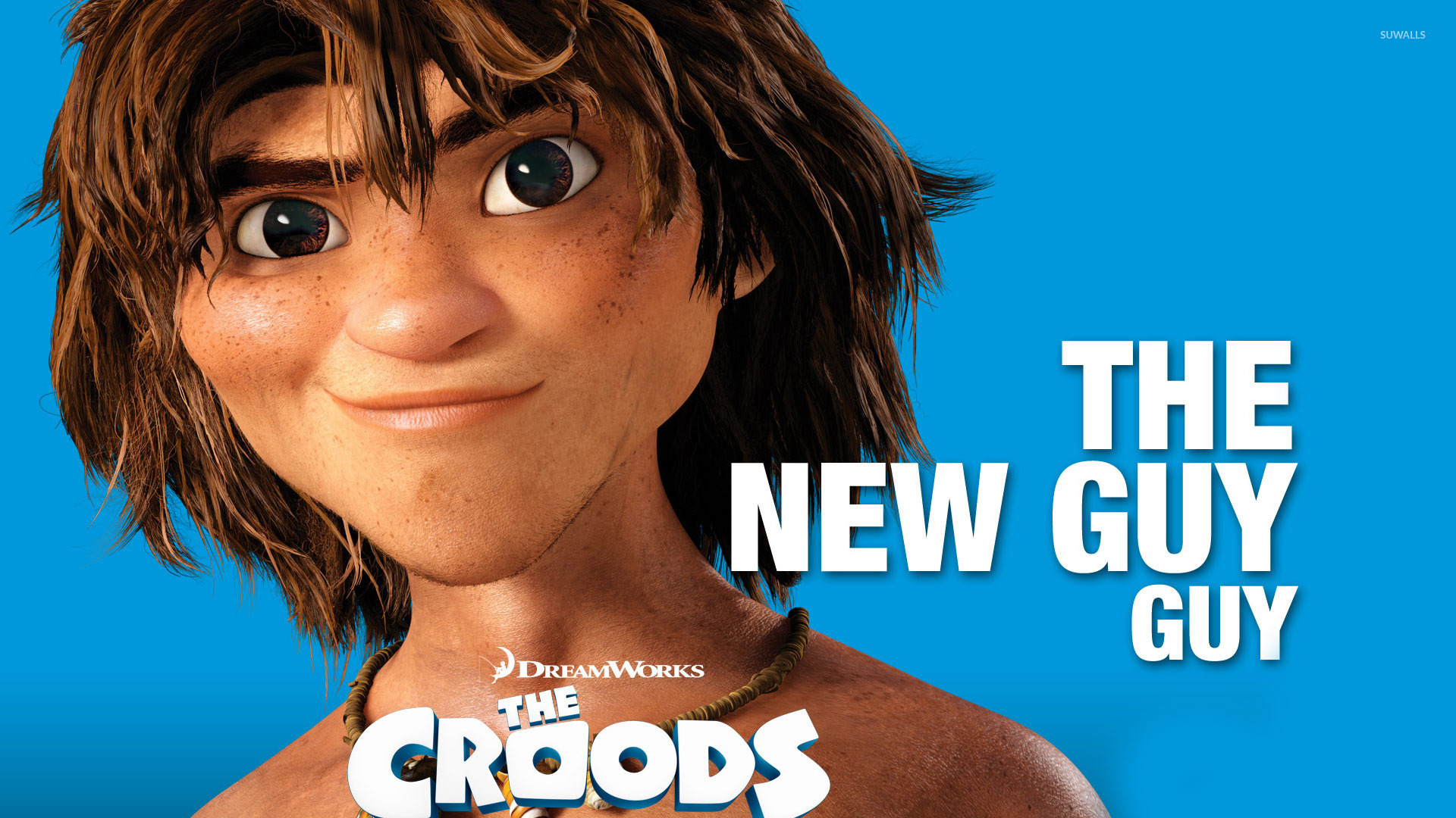 Guy the croods 3 wallpaper cartoon wallpapers 19119 guy the croods 3 wallpaper voltagebd Gallery