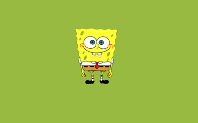 Happy SpongeBob SquarePants wallpaper