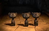 Harris, Hubert and Hamish transformed in bear cubs wallpaper 2560x1600 jpg