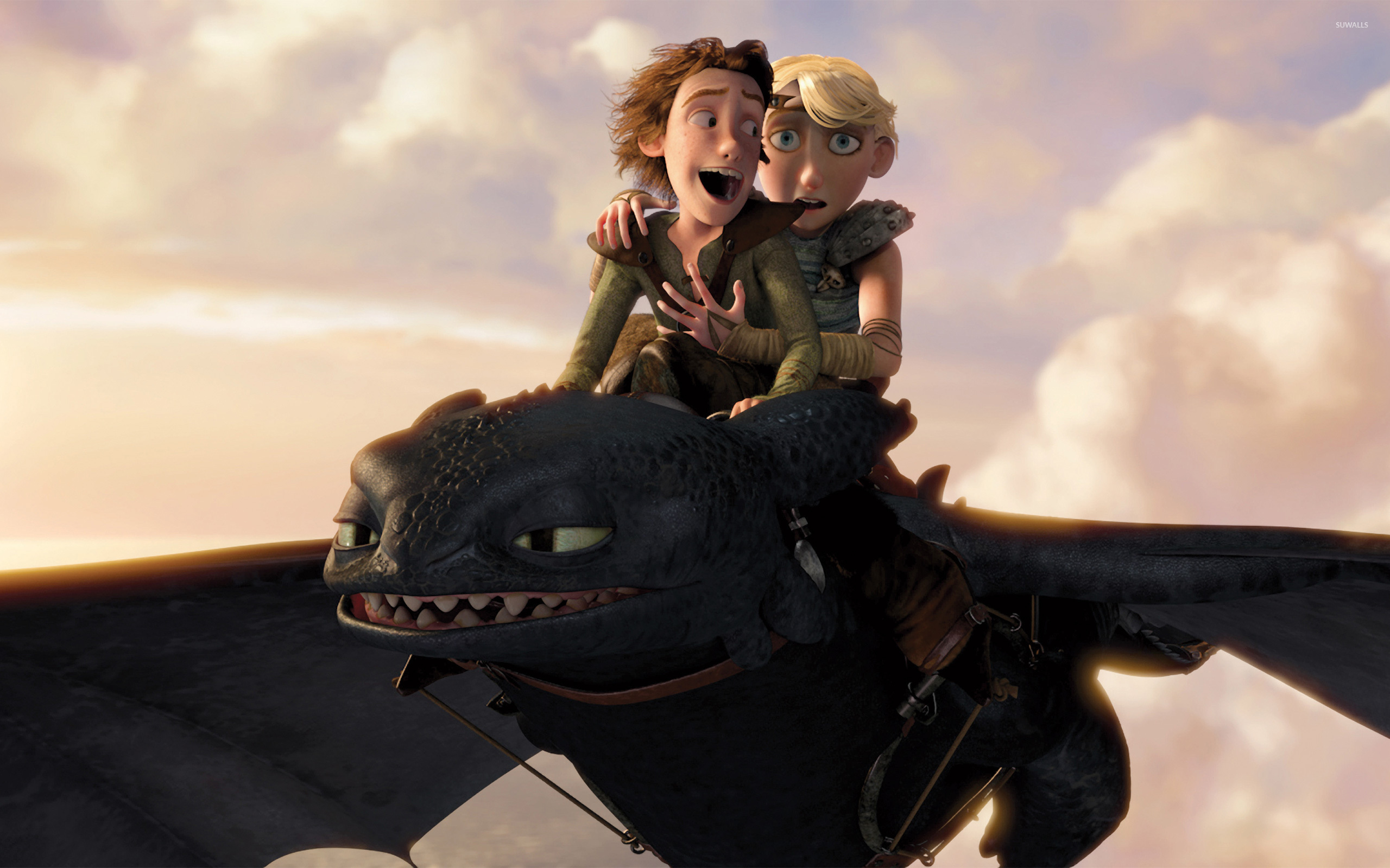 How To Train Your Dragon 4 Wallpaper