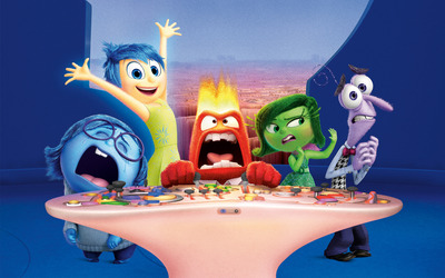 Inside Out cartoon characters wallpaper