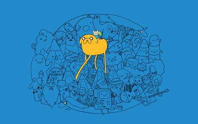 Jake - Adventure Time wallpaper