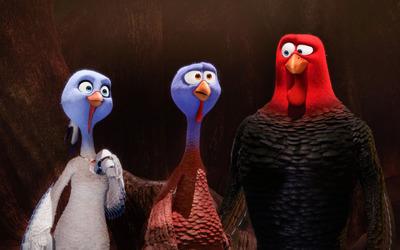 Jenny, Reggie and Jake - Free Birds wallpaper