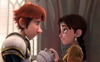 Justin and Talia - Justin and the Knights of Valour [2] wallpaper 2560x1600 jpg