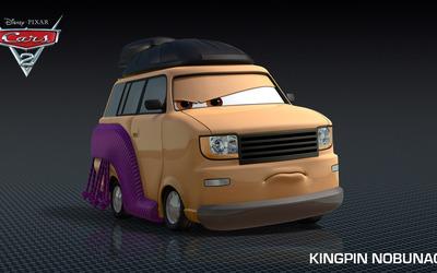 Kingpin Nobunaga - Cars 2 wallpaper