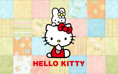 Kitty White and My Melody - Hello Kitty [2] wallpaper