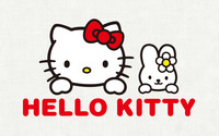 Kitty White and My Melody - Hello Kitty wallpaper 1920x1200 jpg
