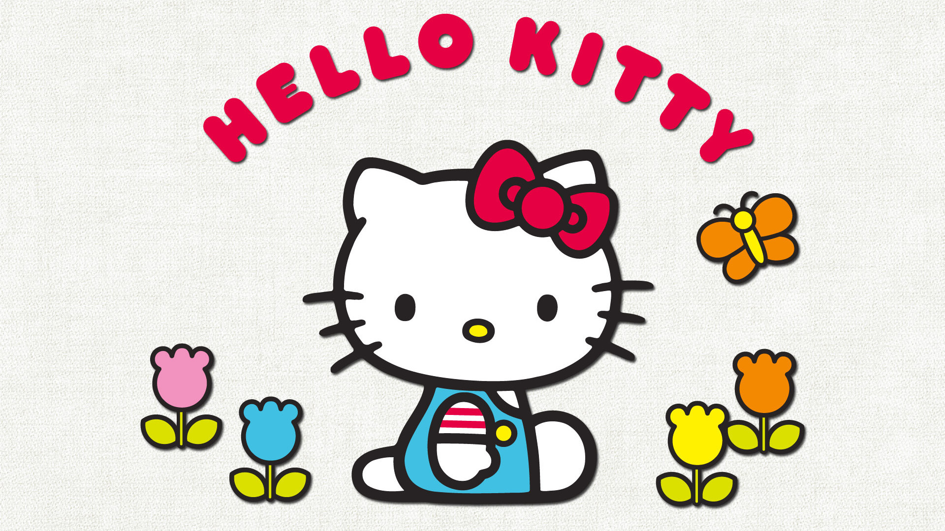 hello kitty wallpaper white - photo #9