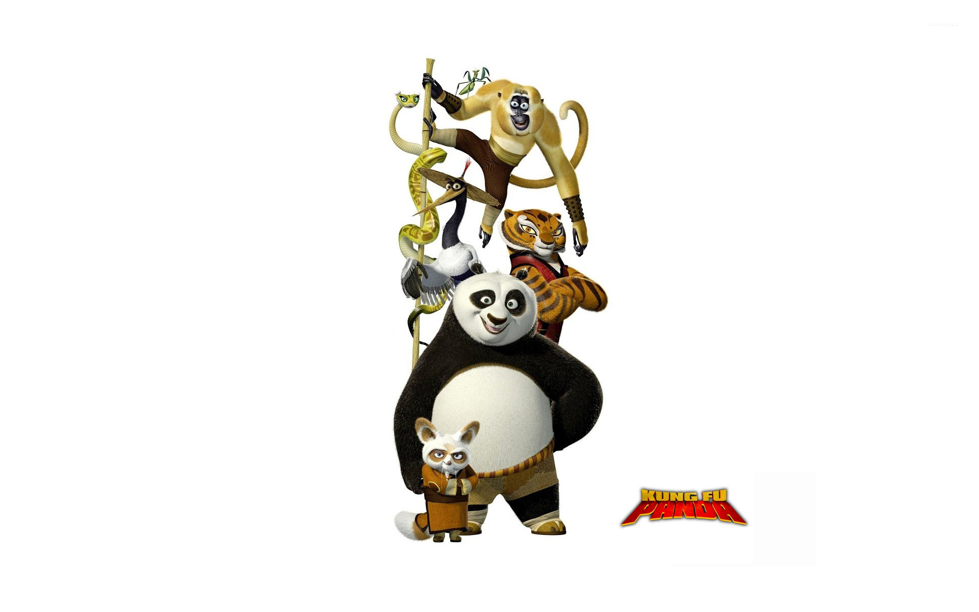kung fu panda [4] wallpaper - cartoon wallpapers - #4896
