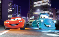 Lightning McQueen and Mater - Cars wallpaper 2560x1600 jpg