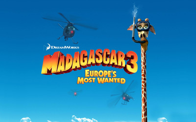 Madagascar 3: Europe's Most Wanted [5] wallpaper