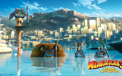 Madagascar 3: Europe's Most Wanted [4] wallpaper