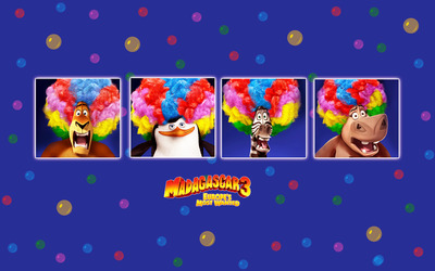 Madagascar 3: Europe's Most Wanted [2] wallpaper