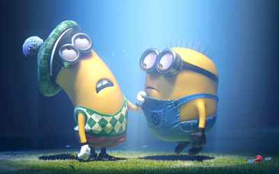 Mark and Tim - Despicable Me 2 wallpaper