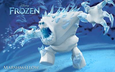 Marshmallow - Frozen wallpaper
