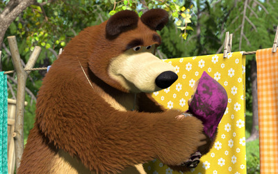 Masha and the Bear [34] wallpaper