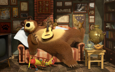 Masha and the Bear [19] wallpaper