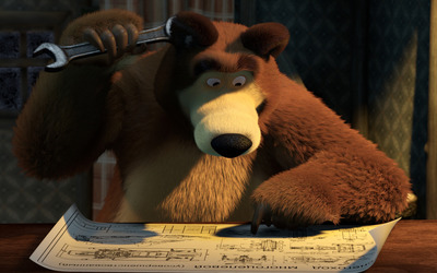 Masha and the Bear [25] wallpaper