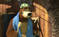 Masha and the Bear [18] wallpaper 1920x1080 jpg