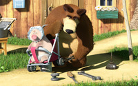 Masha and the Bear [22] wallpaper 1920x1080 jpg
