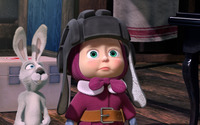 Masha and the Bear [2] wallpaper 1920x1080 jpg