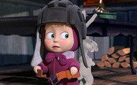 Masha and the Bear [11] wallpaper 1920x1080 jpg