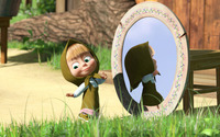 Masha and the Bear [12] wallpaper 1920x1080 jpg