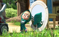 Masha and the Bear [7] wallpaper 1920x1080 jpg