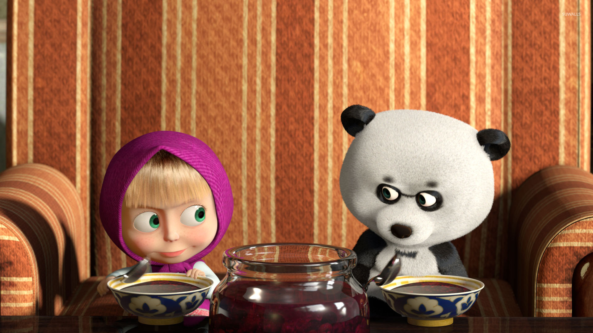Masha And The Bear Wallpaper Tumblr