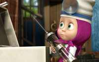 Masha and the Bear [6] wallpaper 1920x1080 jpg