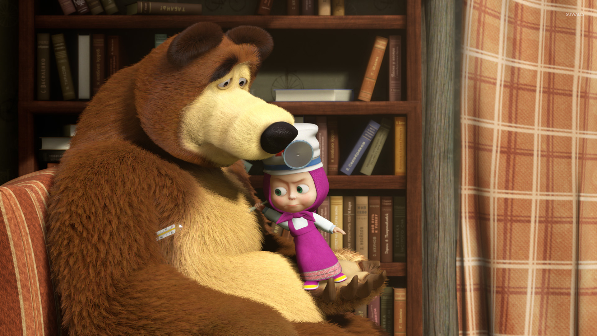 Masha and the Bear [15] wallpaper  Cartoon wallpapers  46518